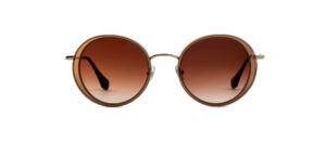 Gigi Studios Venus Sun 6361 2 Gold Brown Polarized METALL AZETAT 82