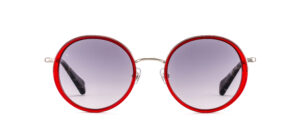 Gigi Studios Venus Sun 6361 6 Dark Red Grey Polarized METALL AZETAT 16