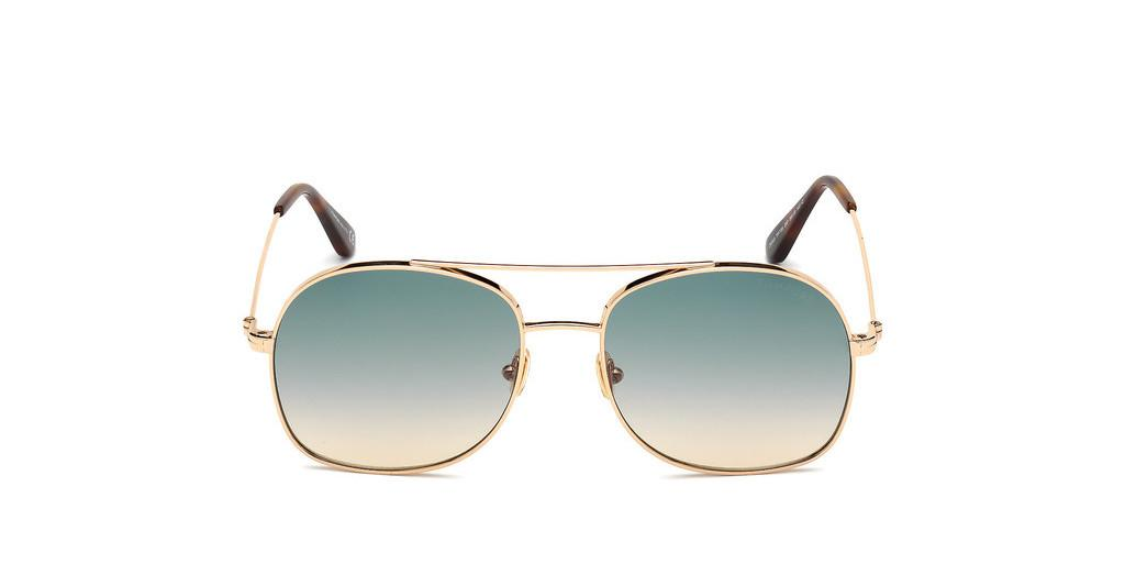 TOM FORD TF0758 28P Metall 10