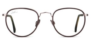 WILLEMS Falmouth N Rim RHODIUM MATT DARK BROWN 02 R11 Metall 34